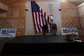 What Is The Flag Of Alabama Alabama Senate Race Live Updates Latest On Roy Moore Doug Jones