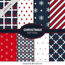 christmas patterns christmas collection of modern abstract patterns vector free