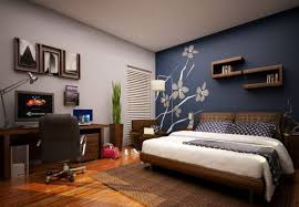 Bedroom Wall Design Ideas White Interior Concept With Beautiful - Design for bedroom wall