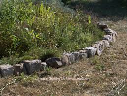 rock borders for gardens 10 garden edging ideas with bricks and