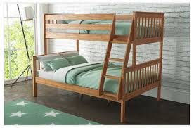 Oxford Triple Bunk Bed In Pine Small Double Furniture - Single double bunk beds