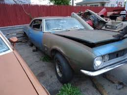 used 1967 camaro parts buy used 1967 camaro for parts or to redo in clio michigan