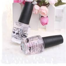 2pcs 15ml nail art polish natural base coat u0026 clear top coat