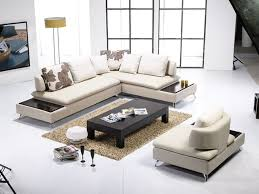 Modern Leather Living Room Furniture Cool Leather Furniture Contemporary Living Room 60 Remodel With
