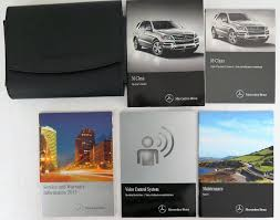 2015 mercedes benz m class owners manual guide book ebay
