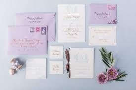 Wedding Invitations Purple Purple Wedding Invitation Ideas Trendy Bride Magazine