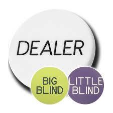 Big Blind Small Blind Dealer Button Set Da 3 Pezzi Dealer Big Blind Small Blind