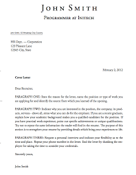 Samples Of Resume Cover Letters by 5 Free Cover Letter Templates Excel Pdf Formats