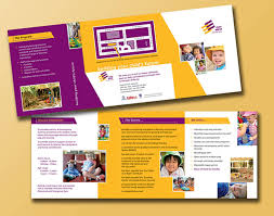 child care brochure template daycare brochure templates free