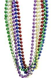 parade throws wholesale 60in 22mm metallic 6 assorted color
