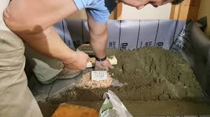 Kirb Perfect Shower by Shower Base Installation With Mortar Youtube