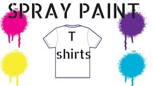 Font Spray Paint - spray paint t shirts youtube