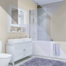 Tiled Wall Boards Bathrooms - shower wall panels waterproof bathroom panels wet wall boards