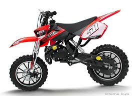 kids motocross bike crx race 50cc mini dirt bike in red xtreme toys