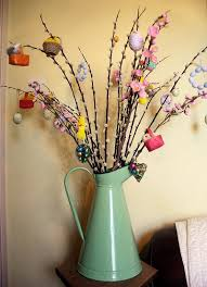 Homemade Easter Tree Decorations by Making An Easter Trees U2013 Happy Easter 2017