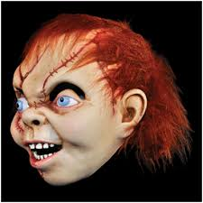 official child u0027s play bride of chucky mask mad about horror