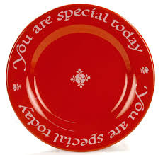 you are special today plate c a inspirations you are special plate you are special today