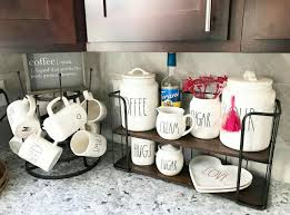 some canisters fit on this hobby lobby rack rae dunn rae