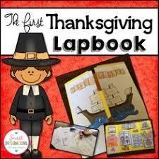 interactive thanksgiving lapbook pilgrim thanksgiving and