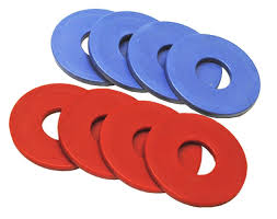 outdoor cool toss rings for washer toss game and washer horseshoe