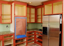 Best Paint For Laminate Kitchen Cabinets Inspiring Painted Kitchen Cabinets Ideas Painting Oak Spraying