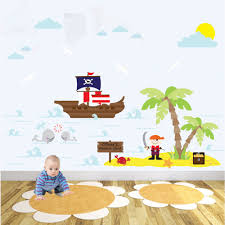 Bedroom Wall Decals Uk Pirate Bedroom Ideas Free Pirate Wall Decals Simple On Small Home