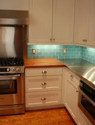 glass kitchen tile backsplash turquoise glass subway tile backsplash with recycled glass