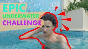 Challenge Breathing Epic Underwater Challenge No Breathing Challenge