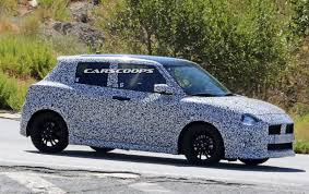 all new suzuki swift sport scooped with new styling and turbo u0027d engine