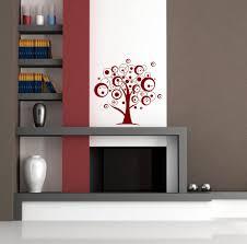 Wohnzimmer Deko Strass Wandtattoo Aufkleber Wand Deko Design Für Wohnzimmer Retro Kreise