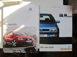 vw volkswagen 2017 cool great 2 german car brochures vw volkswagen golf mkiii 1991