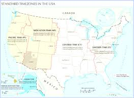 Map Of Time Zones In America by Ontimezone Com Time Zones For The Usa And North America Entrancing