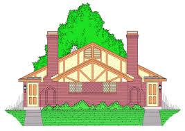 multi family plan 60813 at familyhomeplans com