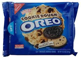 review nabisco limited edition cookie dough oreo cookies the
