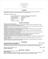 director of operations resume 10 director of operations resume templates pdf doc free