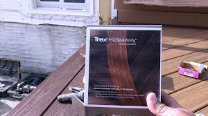quick and easy home improvements trex deck construction home improvement vlog 13 youtube