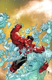 red hulk iceman martegracia deviantart deviantart