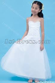 kids wedding dresses gorgeous mini wedding dress for kids 1st dress