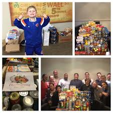 thanksgiving food drive to be bernard nickels associates