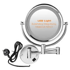 new shaving mirror with light wall mounted 30 with additional