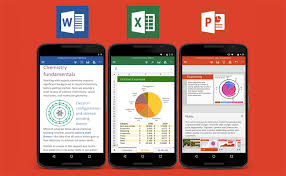 word app for android microsoft office apps like excel powerpoint and word now