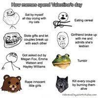 Anti Valentines Day Meme - gaurav pokhriyal s gauravpokhriyal16 anti valentines day memes