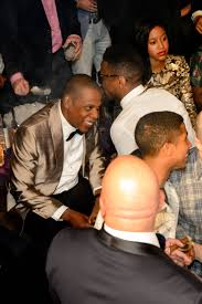 jay z hosts the post fight party at marquee with beyonce