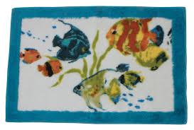 Fish Bath Rug Rainbow Fish Bath Rug Curtain Bath Outlet