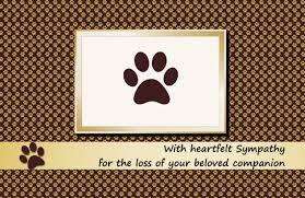 printable sympathy cards for pets pet sympathy cards