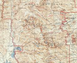 Acadia National Park Map Rocky Mountain National Park 1915 Usgs Topographical Map U2014 Purple