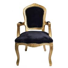 black velvet bedroom chair french louis armchair gold black velvet shabby chic antique style