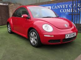 light pink volkswagen beetle used 2008 volkswagen beetle 1 6 luna 3dr for sale in canvey island