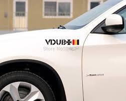 Flag Car Decals Aliauto Car Accessories Vdub Cross Germany Flag Reflective Car