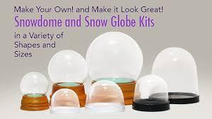 snow globes kits photo souvenir gift global shakeup